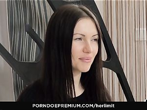HER restrict - rough anal and face poke with Sasha Rose