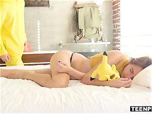 Pokemon nymph creampied by Pikachu