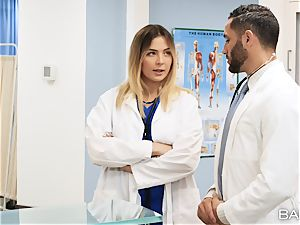 doctor and nurse Blair Williams shag in polyclinic