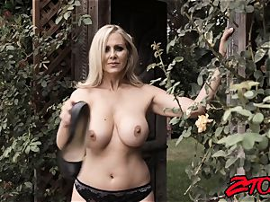 fat boobed milf Julia Ann railing hard-on