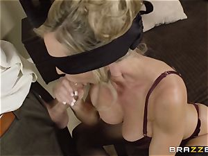 The spouse of Brandi enjoy lets her pummel a different fellow