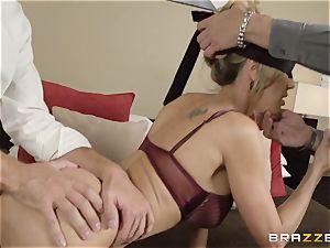 The spouse of Brandi enjoy lets her pummel a different fellow