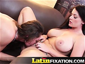 LatinFixation molten threeway with Sophie Dee