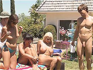 A lubricious affair part trio