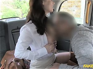 faux taxi warm minx comes back for tough assfuck