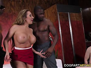 massive bootie Richelle Ryan smashes big black cock In Front Of A cheating