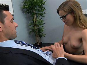 Natasha milky gets her well well-deserved bonus