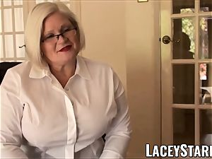 LACEYSTARR - subordinated GILF booty wedged by Pascal milky