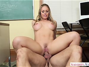 Nicole Aniston - My first-ever teacher, who told me about fuck-fest and took my penis on the desk