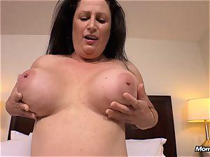 large natural titties mummy gets hard-core humping