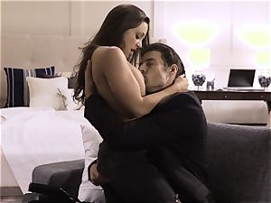 Spoiled pt 5 Abigail Mac nutted on after molten shag