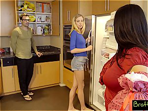 ash-blonde teenage Haley's obsessed with her stepdad's man rod