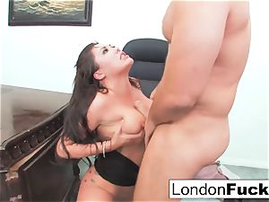 London Gets bent Over and Office pounded