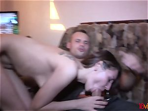legal Videoz Stacy Snake dual porking with profit
