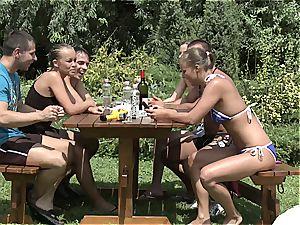 Garden party part 1