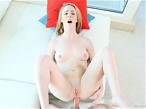 very first assfuck scene with kinky Bonnie Grey