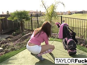 Taylor showcases you her big baps