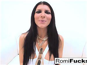 xxx fuck-fest with porn starlet Romi Rain