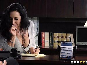 secretary Jayden Jaymes boinks on the bosses desk