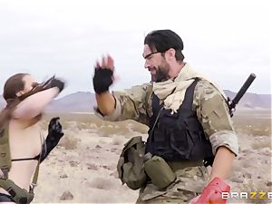 metal Gear Solid five rectal porn parody with insatiable brunette Casey Calvert