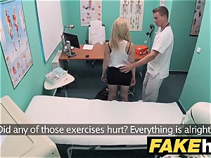 faux medical center puny blondie Czech patient health test