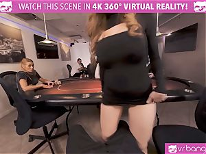 VRBangers.com-Busty stunner is ravaging rock hard in this agent