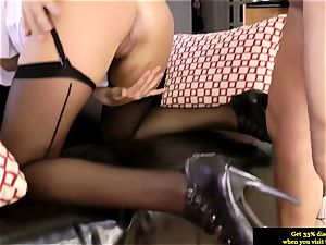 classy british stunner ass-fucked by aged guy and luvs it