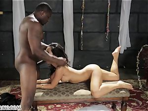 Groom with his greatest friend smash Bride in the dungeon
