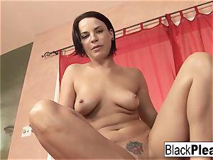 adult movie star Dana DeArmond takes a big black cock up her bootie