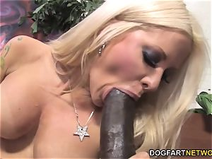 blondie Helly Mae Hellfire Gets tucked By A big black cock