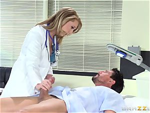 super-steamy doctor Brooke Wylde makes this patient all nicer