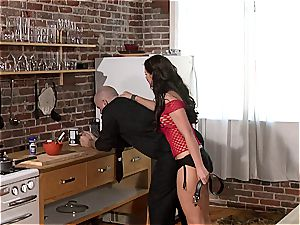 Phoenix Marie is a requiring master to her sub