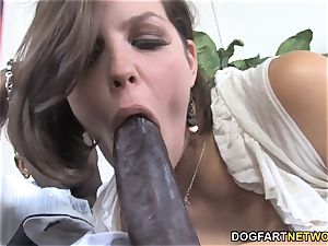 big black cock bitch Bobbi Starr Wants assfuck fuck-fest With display chocolate-colored