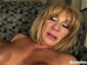 pussy pumping joy button fun with a wondrous mighty damsels