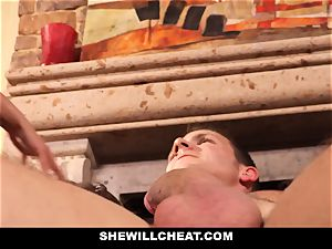 hotwife hubby observes Wifes cootchie Get demolished