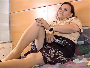 LatinChili Mature grandmother Latina Solo Compilation