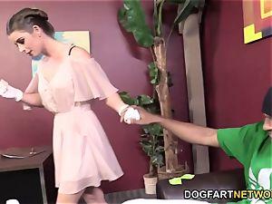 Bunny Freedom Wants Her Patient's dark-hued man meat