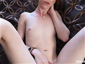 Ginger nubile Katy smooch throating jizz-shotgun