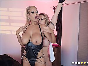 Eva Notty porks her stepson with Bridgette B