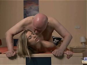 young secretary pulverizes elder stud boss penetrates luxurious lady