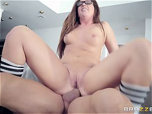 Maddy OReilly plumbed stiff by Johnnys firm man rod