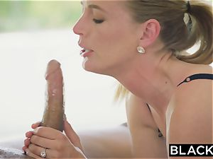 BLACKED molten wife cuckolds spouse with ebony neighbor
