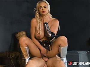 Heroine Phoenix Marie bashed by hung inmortal god