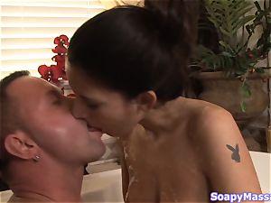 Smoking molten soapy fun with Nikki Daniels