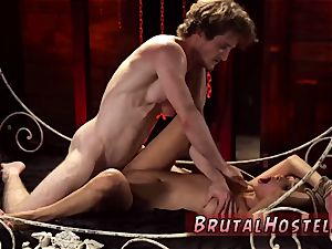 Real amateur bdsm and blow-job machine scanty lil' Jade Jantzen, she just dreamed to have a
