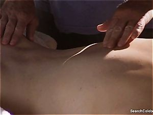 beautiful Mimi Rogers gets her whole assets touched