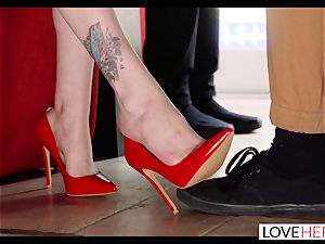 LoveHerFeet - Making His feet wish fantasy Come True