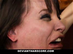 DeviantHardcore-Hot mummy kneaded and handcuffed To Cross