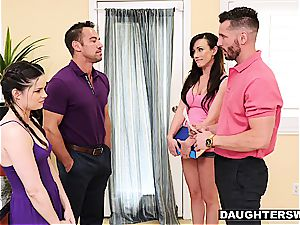 jiggish daughters-in-law have something more titillating than tutoring in mind