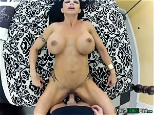 insane babe clitties Jade plumbed point of view style